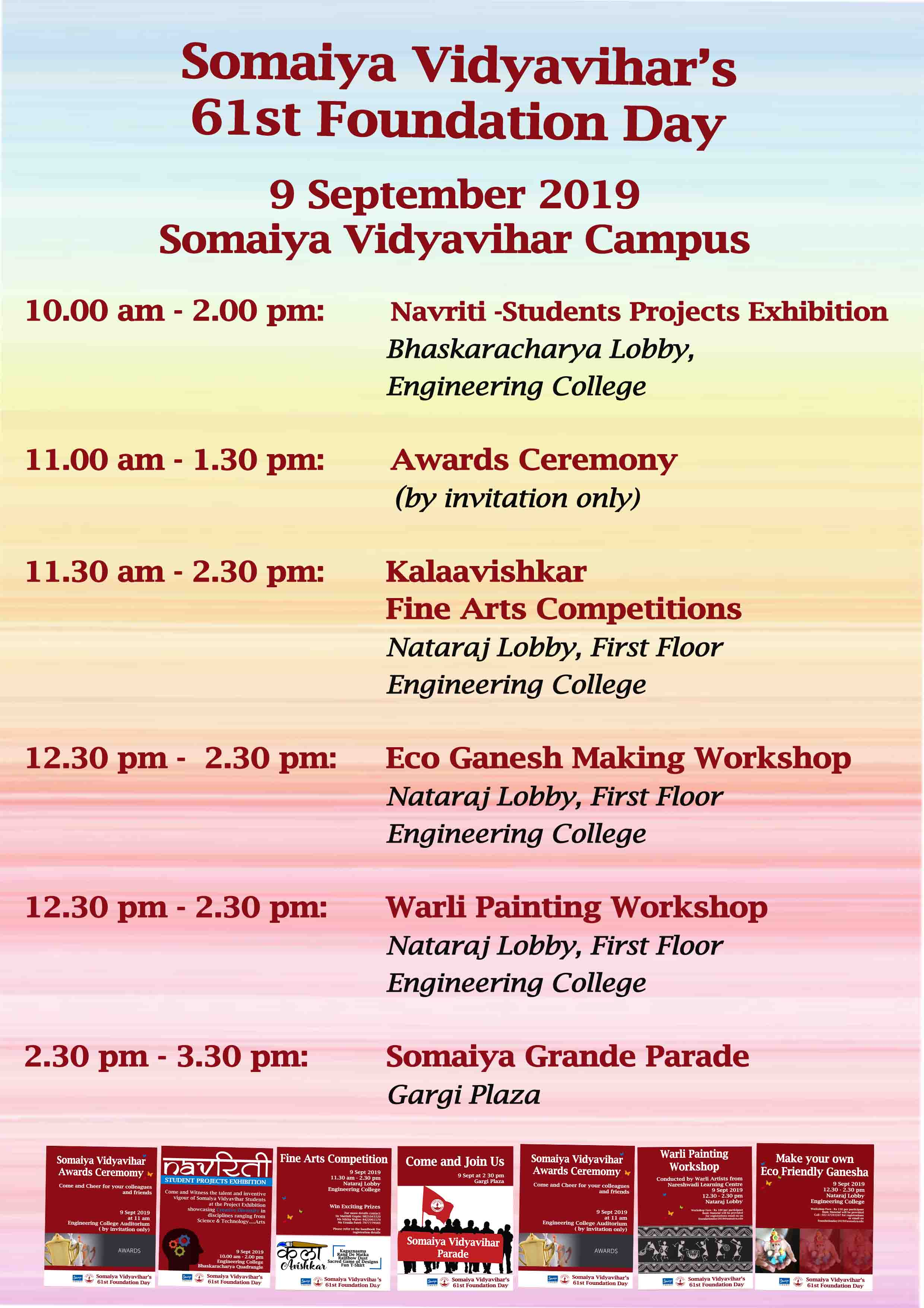 Somaiya Vidyavihar's 61st Foundation Day
